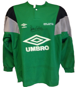 Peter Shilton Newcastle United Shirt (Match-Worn)
