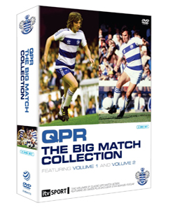QPR Queens Park Rangers Big Match Boxset (DVD)