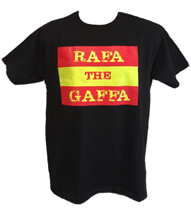 Rafa The Gaffa Black (T-Shirt)