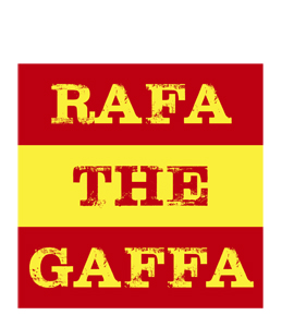 Rafa The Gaffa (Greetings Card)