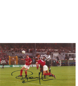 Rob Lee Newcastle Photo (Signed)