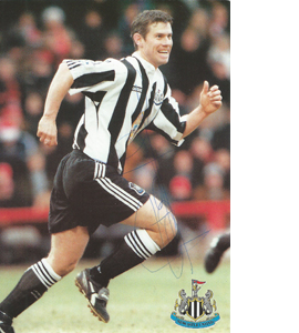 Rob Lee Newcastle Postcard (Signed)