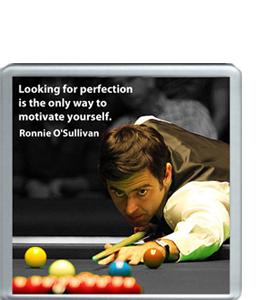 Ronnie O'Sullivan Quote (Coaster)