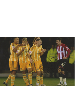 Ryan Taylor Newcastle Photo (Signed)