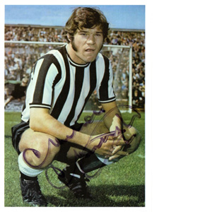 Malcolm Macdonald Newcastle Postcard (Signed)