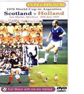 Scotland v Holland 1978 World Cup (DVD)