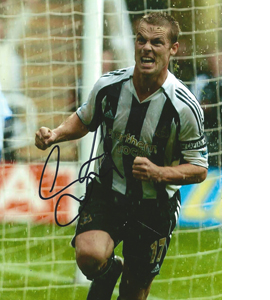 Scott Parker Newcastle Photo (Signed)