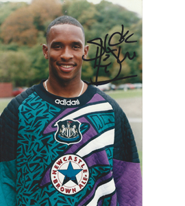 Shaka Hislop Newcastle Photo (Signed)