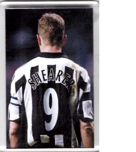 Alan Shearer 9 Newcastle United (Fridge Magnet)