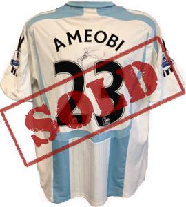 Shola Ameobi Newcastle United Shirt 2007/08 (Match-Worn)