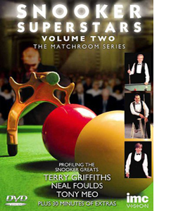 Snooker Superstars - The Matchroom Series - Vol 2 (DVD)