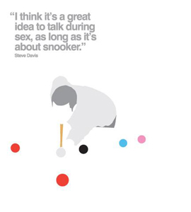 Snooker (Greetings Card)