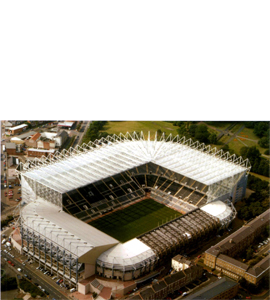 St James Park Newcastle United (Postcard)