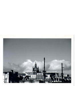 St James Park Newcastle Rooftops (Greeting Card)