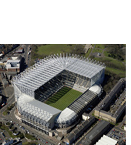 St James' Park Newcastle United Football Stadium (Greeting Card)