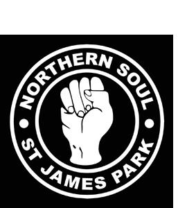 St James' Park Northern Soul (Glass Coaster)