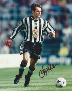 Stephen Glass Newcastle Photo (Signed)