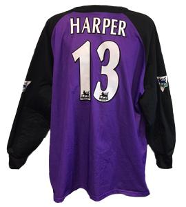Steve Harper Newcastle United Keeper Shirt 1998/99 (Match-Worn)