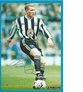 Steve Watson Newcastle Postcard (Signed)