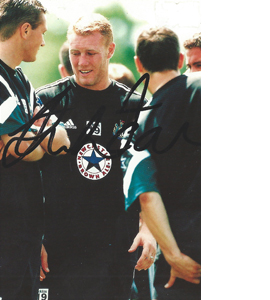 Steve Watson Newcastle Photo (Signed)