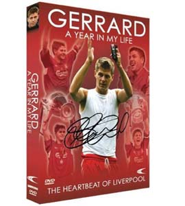 Steven Gerrard - A Year In My Life (DVD)
