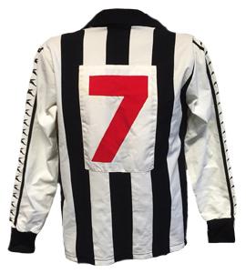Stewart Barrowclough Newcastle Utd Home Shirt 77/78 (Match-