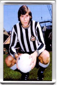 Supermac Malcolm MacDonald Newcastle United (Fridge Magnet)