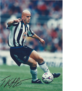 Temuri Ketsbaia Newcastle Photo (Signed)