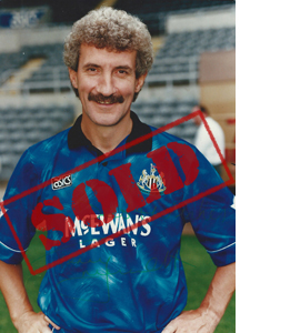 Terry McDermott Newcastle Photo (Signed)