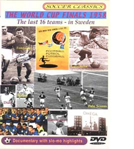 The 1958 World Cup Finals The Last 16 (DVD)
