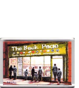 The Back Page Shop (Fridge Magnet)