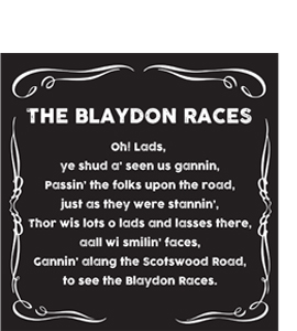 The Blaydon Races (Greeting Card)