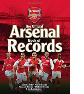 The Official Arsenal FC Book of Records (HB)