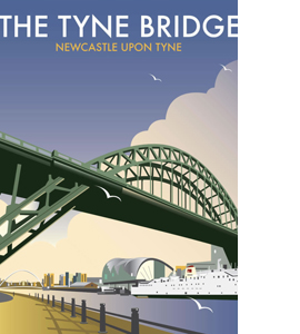 The Tyne Bridge (Greetings Card)