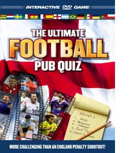 The Ultimate Football Pub Quiz (DVD)