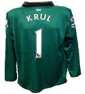 Tim Krul Newcastle United Shirt (Match-Worn)
