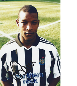 Titus Bramble Newcastle Photo (Signed)