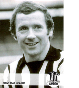 Tommy Craig  Newcastle United Heroes (Postcard)