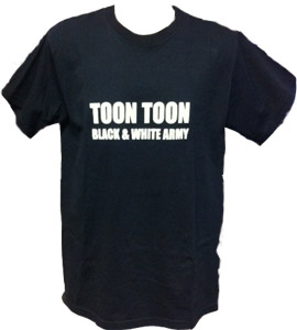 Toon Toon Black & White Army (T-Shirt)