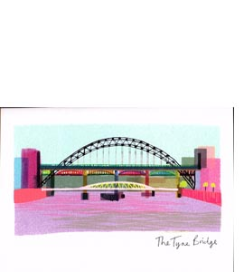 Tyne Bridge (Greetings Card)