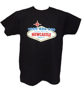 Viva Newcastle Party Toon (T-Shirt)