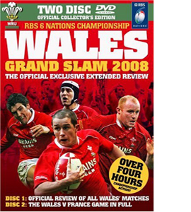 Wales Grand Slam 2008 Official Review (DVD)