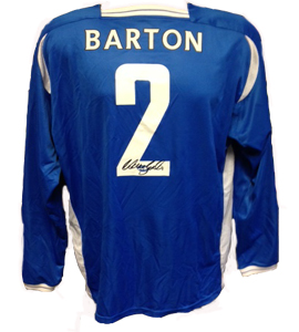 Warren Barton Prince's Trust Rare Shirt (Match-Worn)