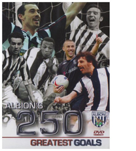 West Bromwich Albion - 250 Greatest Goals (DVD)