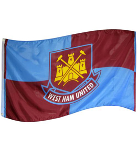 West Ham United F.C. Flag