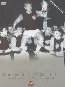 West Ham United v 1860 TSV Munchen European Cup Winners Cup 1965