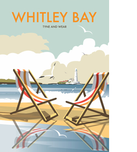 Whitley Bay (Greetings Card)