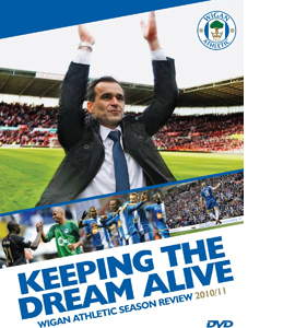 Wigan Season Review 2010-11 ''Keeping the Dream Alive'' (DVD)