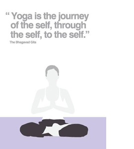 Yoga (Greetings Card)
