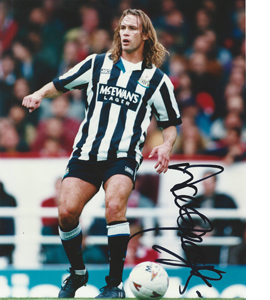 Darren Peacock Newcastle Photo (Signed)